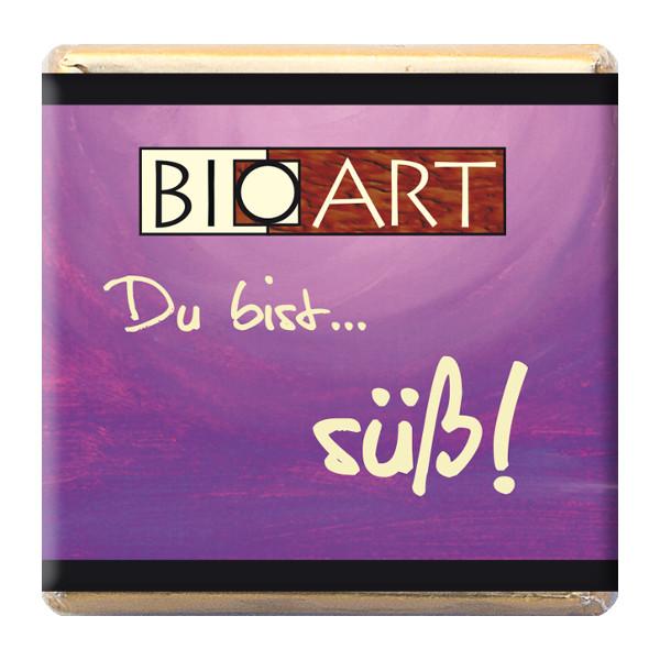 BioArt Vollmilch Schoko Naps Du bist... süß