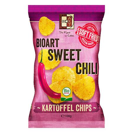 BioArt Soft-Fried Kartoffelchips Sweet Chili 100g