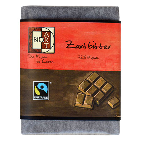 BioArt Schoko Zartbitter 70g /FairTrade