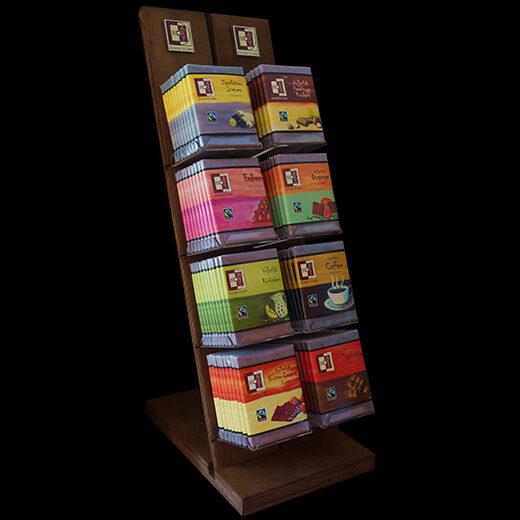 BoArt Holzdisplay für 8 Schokoladen