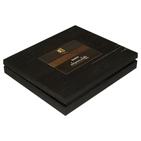 BioArt Holzbox mit 24 Schokoladen 70g