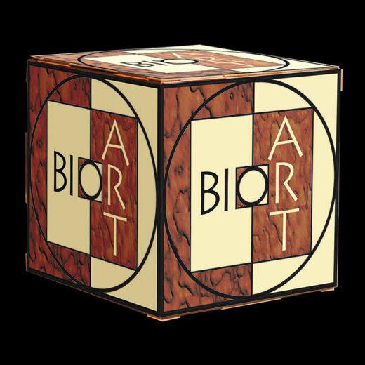 BioArt Präsentations-Würfel 30x30x30cm